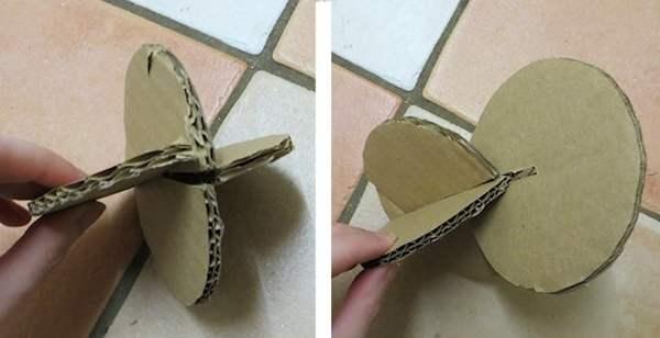 Круглая игрушка для кролика